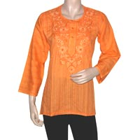 Crafted Embroidered Kurtis