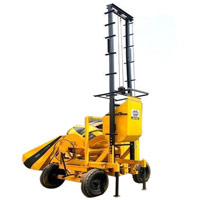 Concrete Mixer Machine Lift