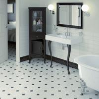Matt White Floor Tiles