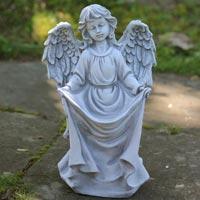 Stone Angel Sculpture