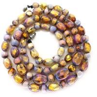 Foil Glass Beads