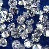 Single Cut White Diamonds