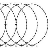 Flat Razor Wire