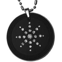 Diamond Scalar Energy Pendant