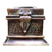 Antique Brass Boxes