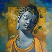 Gautam Buddha Painting