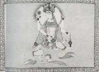 Lord Vishnu Painting