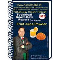 Fruit Juice Powders