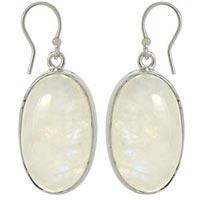 Cab Stone Earrings
