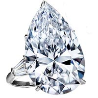 Pear Shaped Diamonds