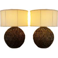 Cane Table Lamps