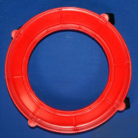 Plastic Gas Cylinder Trolley