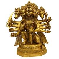 Hanuman Brass Statue