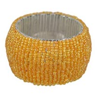 Glass Beaded Napkin Ring
