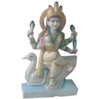 Marble Mansa Mata Statue
