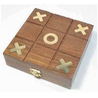 Wooden Game Box