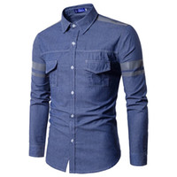 Mens Patchwork Shirts