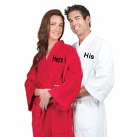 Embroidered Bath Robes