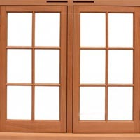 Teak Wood Window Frames