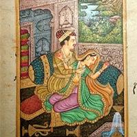 Love Scene Paintings
