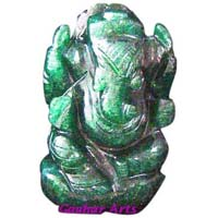 Gemstone God Statue