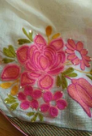 Saree Hand Work