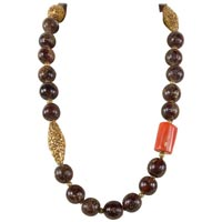 Antique Beads Necklace