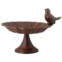Iron Bird Bath