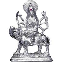 White Metal Statue