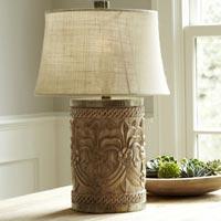 Wood Lamp Bases