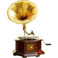 Wooden Gramophone