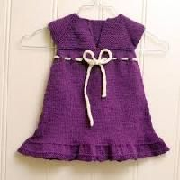 Knitted Girls Frock