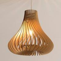 Wood Lamp Shade