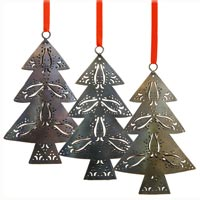 Christmas Metal Ornaments