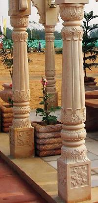 Stone Pillars Manufacturers Suppliers Amp Exporters In India