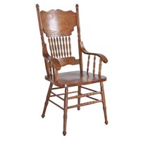 Carved Wood Chair