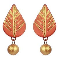Terracotta Earring Set
