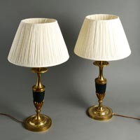 Brass Lamp Bases
