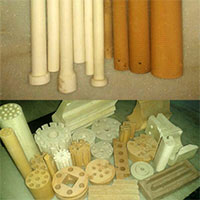 Ceramic Thermocouple Tubes