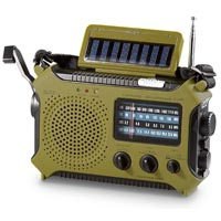 Solar-Powered Radio