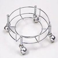 Stainless Steel Cylinder Trolley