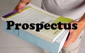 Prospectus Printing Service
