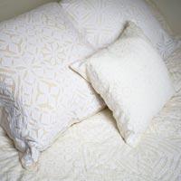 Cut Work Cushion Cover