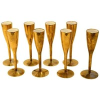 Gold Plated Glass