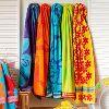 Jacquard Border Towels