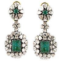 Diamond Polki Earring
