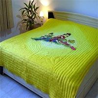 Hand Printed Bedsheet