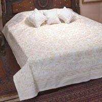 Chikan Bed Sheets
