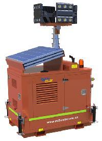 Mobile Solar Light Towers