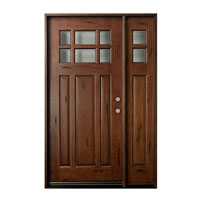 Mahogany Wood Door
